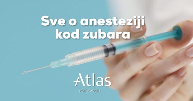 Šta je tačno dentalna anestezija